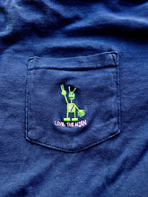 Load image into Gallery viewer, Navy Long Sleeve Pocket Shirt (Embroidered)