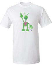 Load image into Gallery viewer, White T-Shirt (Jersey Cotton)