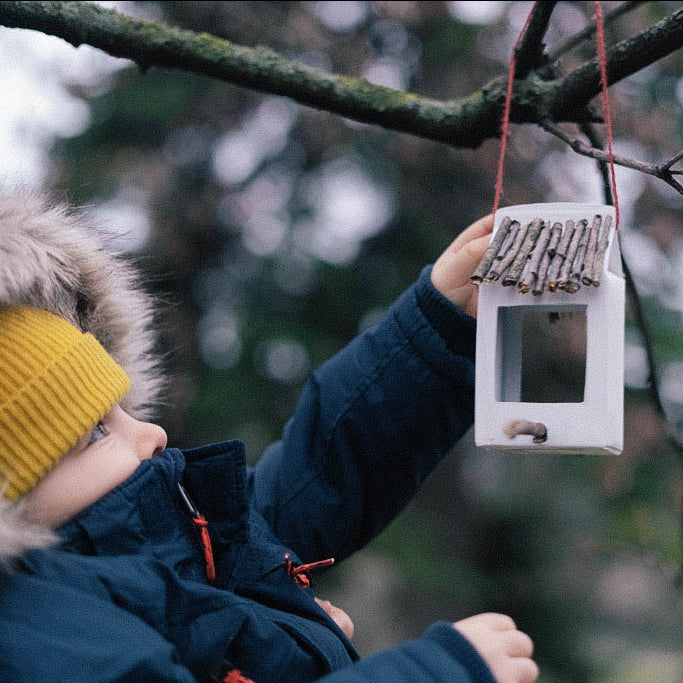 Holiday Crafts with YKRA KIDS - Birdhouse