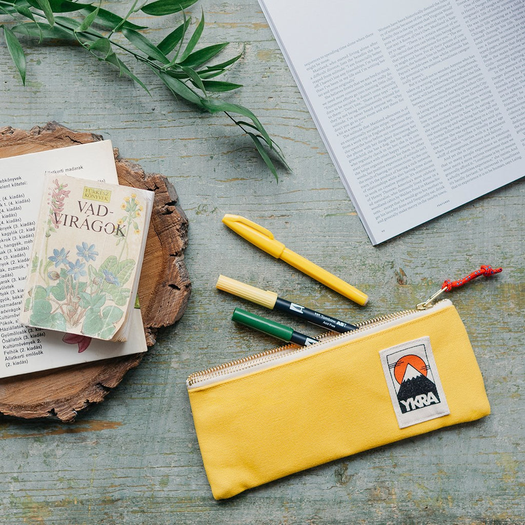 PENCILCASE - YELLOW - YKRA