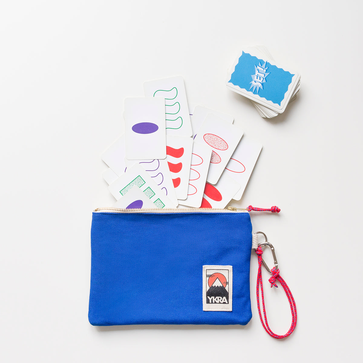POUCH - BLUE - YKRA