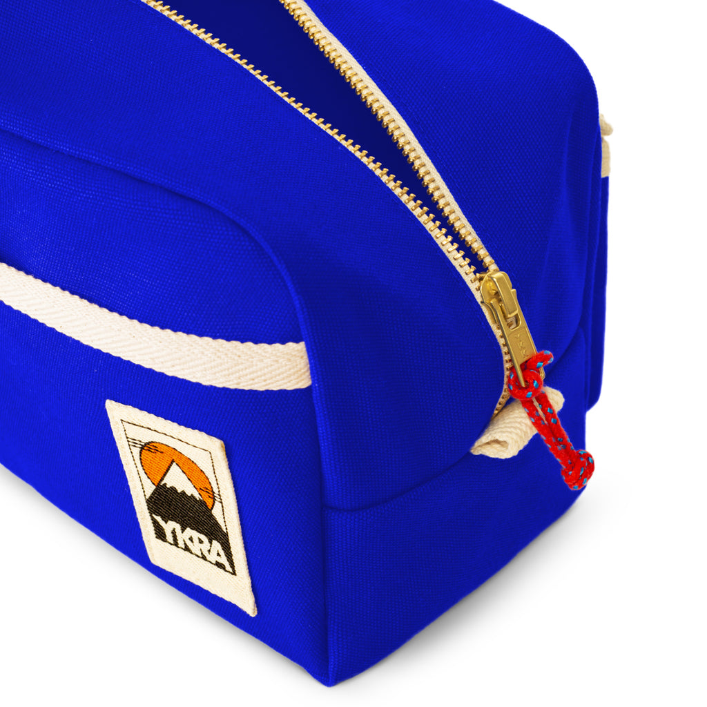 YKRA DOPP PACK - BLUE Canvas Toiletry Bag - YKRA