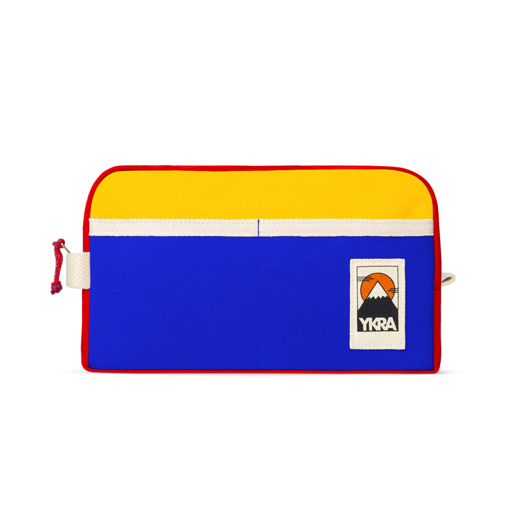 YKRA DOPP PACK - TRICOLOR Canvas Toiletry Bag - YKRA