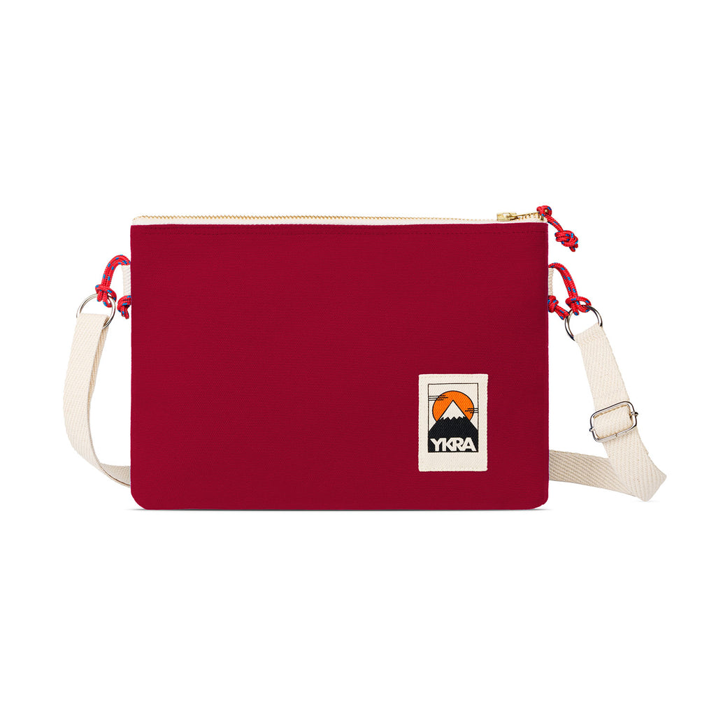 SIDE POUCH - BORDEAUX - YKRA
