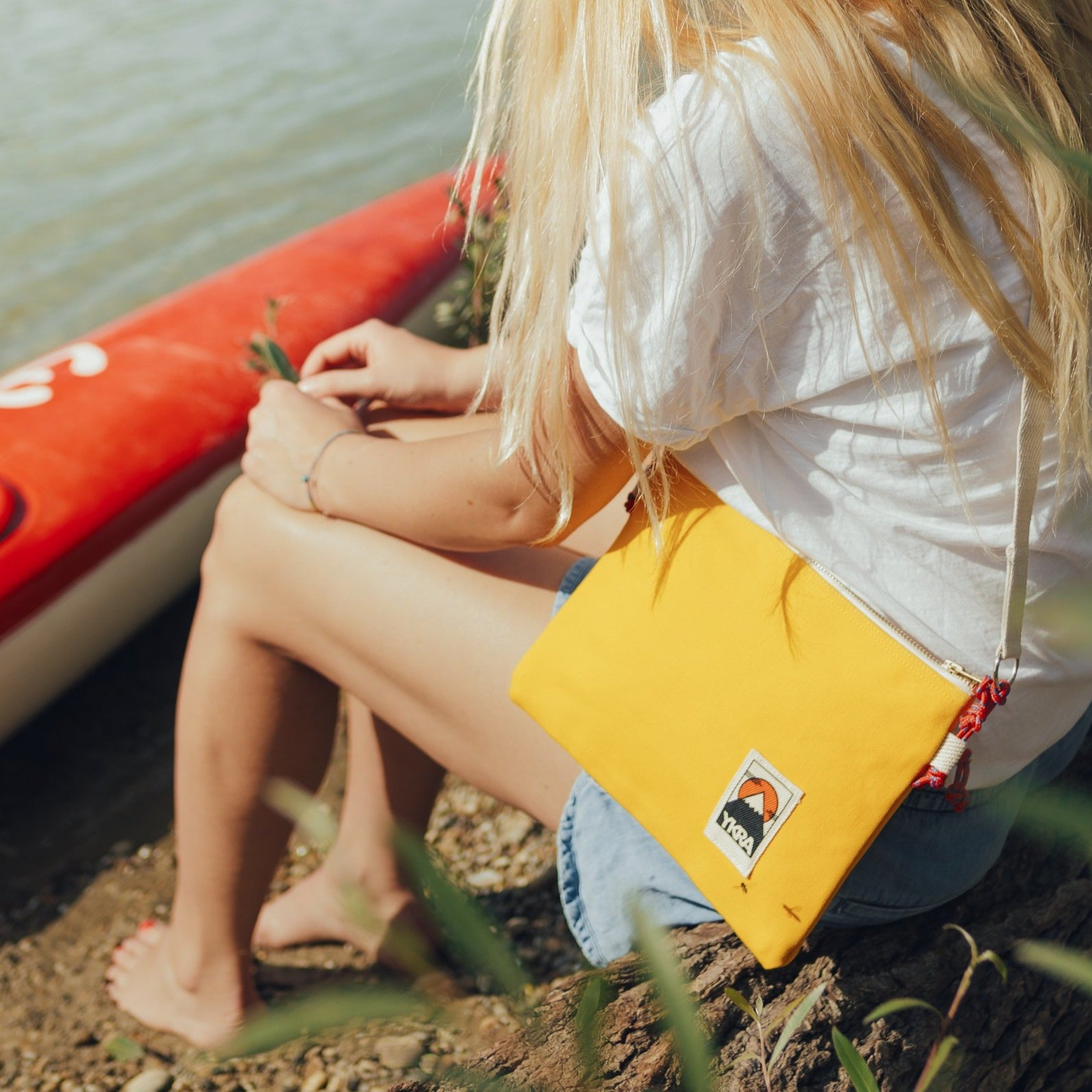 SIDE POUCH - YELLOW