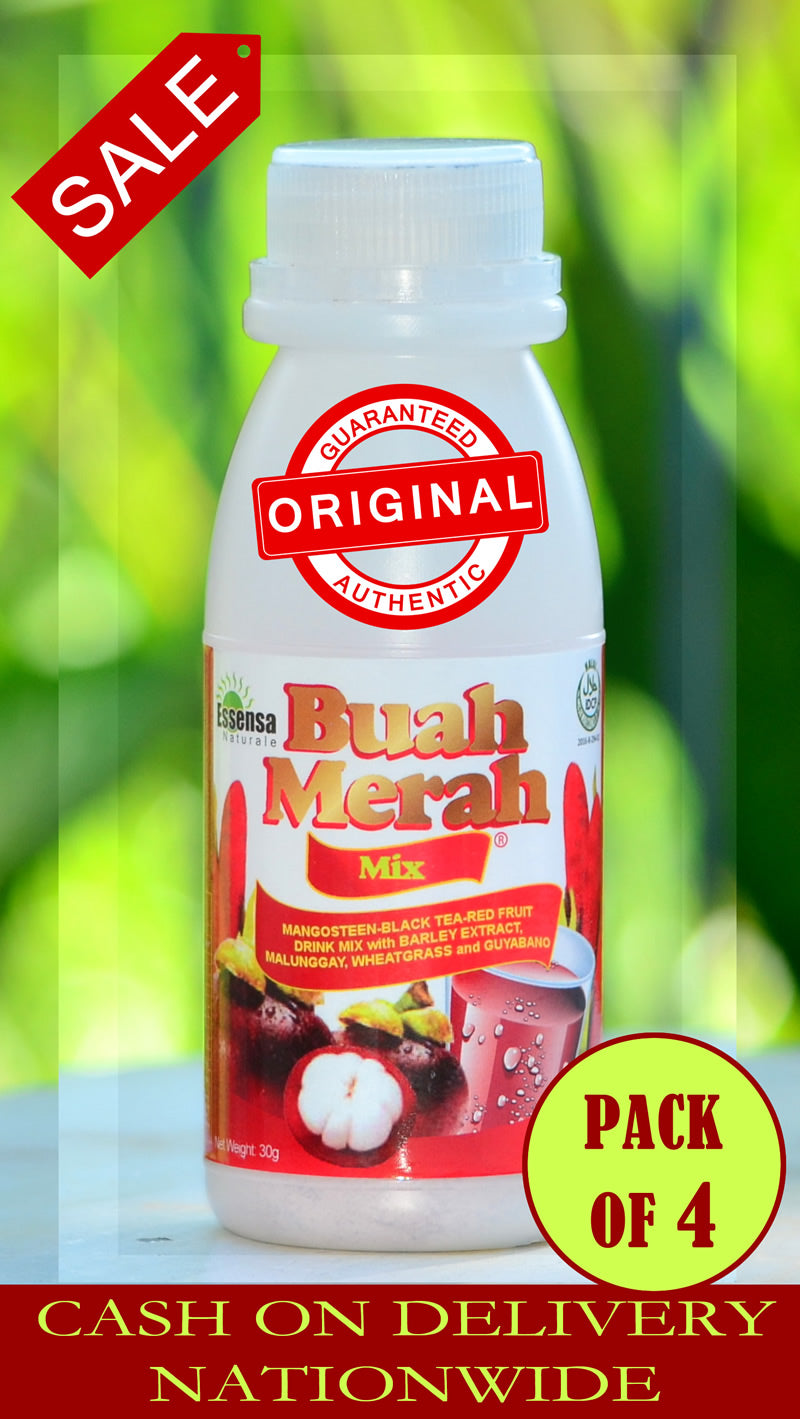 Buy and Save on 4-Pack Original Buah Merah Mix by Essensa Naturale