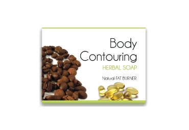 Body Contouring Soap - Pamper Your Body with our Beauty Bar Soaps  WGO, coffee granules, seaweed extract, vitamin e