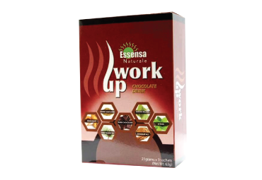 Work Up (Box) - Chocolate Drink  (3 sachets)
