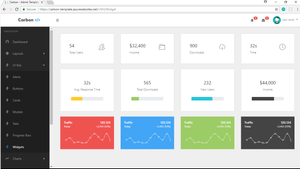 Open Source - Collections 8 Admin Template  - ASP.NET CORE 2.0