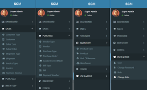 Open Source Supply Chain Management (SCM) Web Application