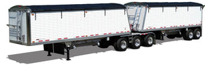 Side Roll Kit For Trailers Requiring Tarp Bows (20'-50' Coverage)