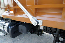 Load image into Gallery viewer, 4 Spring Polished Aluminum Electric Dump Truck Tarp System - Bed Length up to 24'
