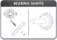 Load image into Gallery viewer, Mountain | K0105C Complete Stub Shaft, Sprocket, & Bearing Assembly