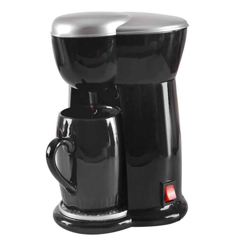 Mini Coffee Machine Single Cup Espresso Machine Home Electric Automatic Coffee Machine(Eu Plug)