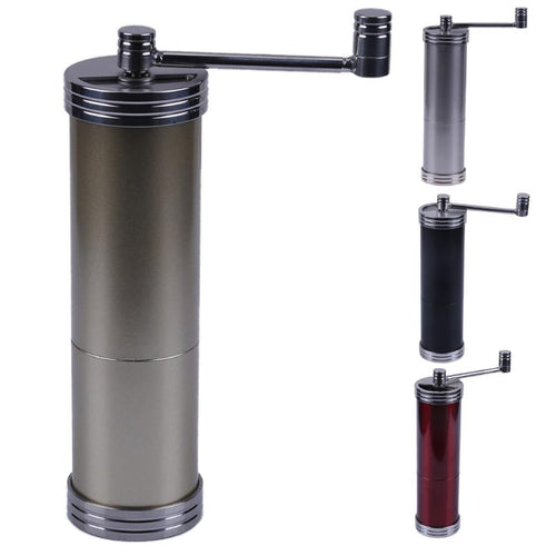 Mini Manual Coffee Grinder Portable Stainless Steel Hand Coffee Grinding Machine Kitchen Tool for Househeld Grinding