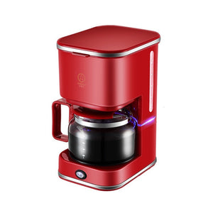 Portable Coffee Maker Automatic American Drip Coffee Machine 5 Cups Coffee Makers 220V for Coffee and Tea for Home Use