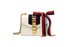 Gucci Sylvie Leather Mini Chain Bag Front View