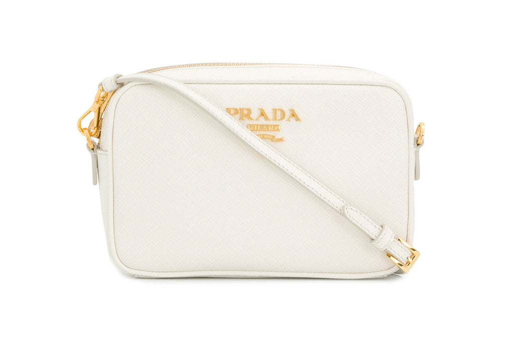 9c789cb3c640f Prada Logo Plaque Crossbody Bag