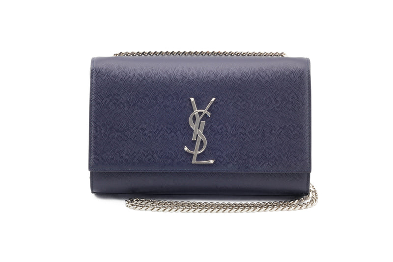 Saint Laurent Medium Kate Chain Bag Front View