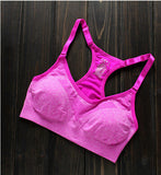 Multicolored Padded Yoga Bra - YogaMed Yoga Meditation Gear and Supplies