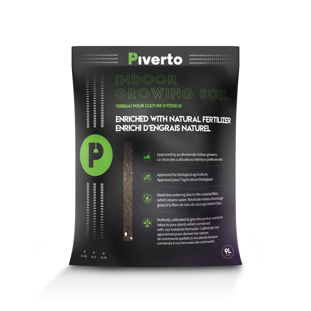 Piverto Indoor Growing Soil - pivertoindoorgrowing