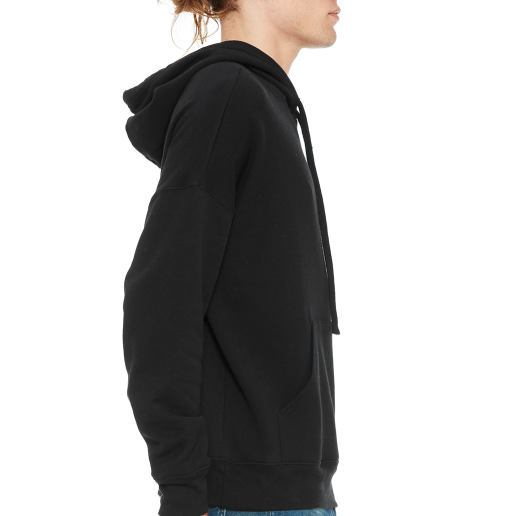 Black Hooded Sweatshirt - pivertoindoorgrowing