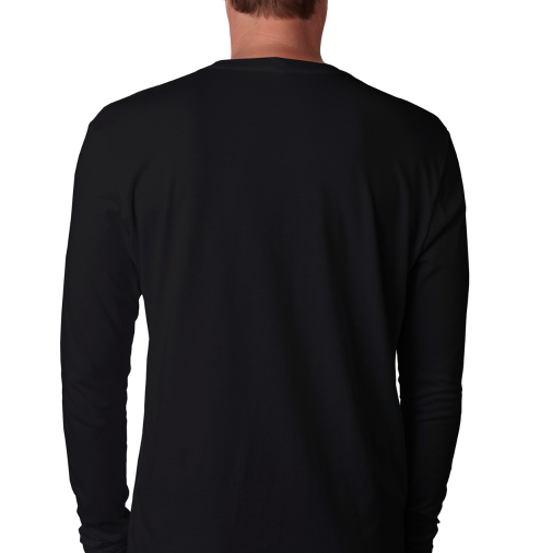 Black Long Sleeve Shirt - pivertoindoorgrowing