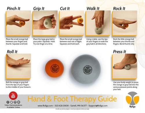 Hand and Foot Therapy Kit