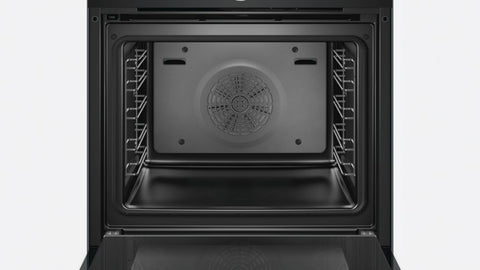 BOSCH - Built In Oven HBG634BBIB 60CM 71LTS 13 Functions - Black