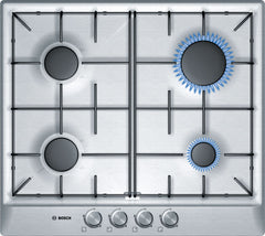 BOSCH PCP615B80Z Built In Hob 4G - Stainless Steel
