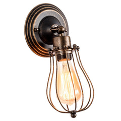 Wall Sconce Vintage Lighting Adjustable Lamp