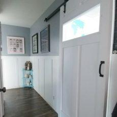 Like so many home decor enthusiasts as of late, have you fallen completely in love with the idea of installing some kind of barn door inspired feature in your home? We have as well, if we're being honest with you, which is how we found ourselves...
