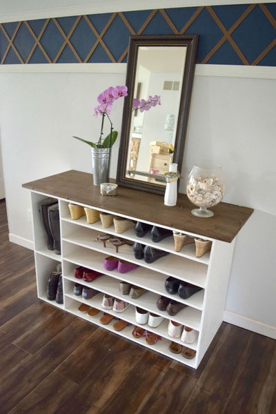 A proper shoe storage system is a must for every home, whether you have a big collection or just a few pair