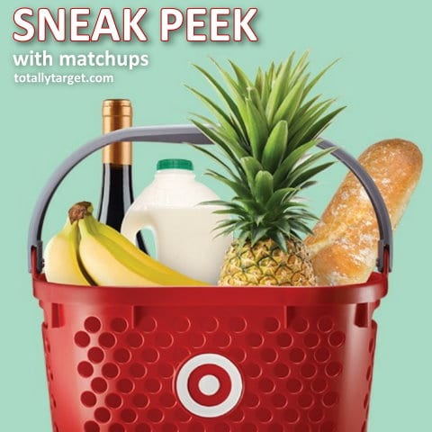 Here is the Target Ad for 9/1- 9/7  with coupon matchups