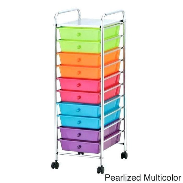 Picturesque Rolling Organizer Cart