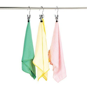 Budget friendly 16 pcs laundry hook boot hanging hold clips portable hanging hooks home travel hangers clothing clothes pins