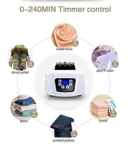 Online shopping manatee clothes dryer portable drying rack for laundry 1200w 33 lb capacity energy saving anion folding dryer quick dry efficient mode digital automatic timer with remote control