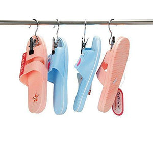 Cheap 16 pcs laundry hook boot hanging hold clips portable hanging hooks home travel hangers clothing clothes pins