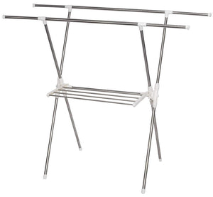Home storage maniac expandable clothes drying rack heavy duty stainless steel laundry garment rack 38 61 inch wide