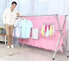 Load image into Gallery viewer, Shop stainless steel laundry drying rack free installed foldable space saving heavy duty