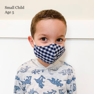 Small Kid's Fabric Face Masks