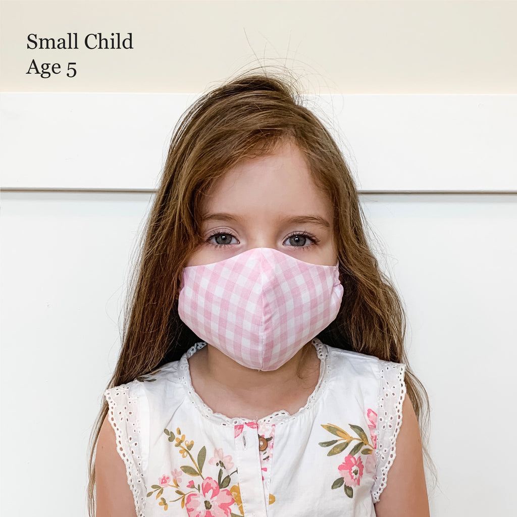 Large Kid's Fabric Face Masks