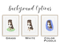 Personalized Great Pyrenees Fine Art Print