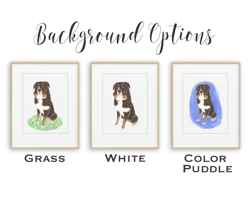Personalized St. Bernard Fine Art Prints