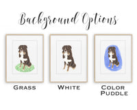 Personalized Frenchie (Black / Brindle) Fine Art Prints