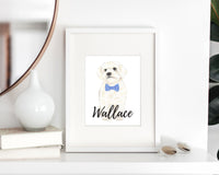 Personalized Bichon Fine Art Prints