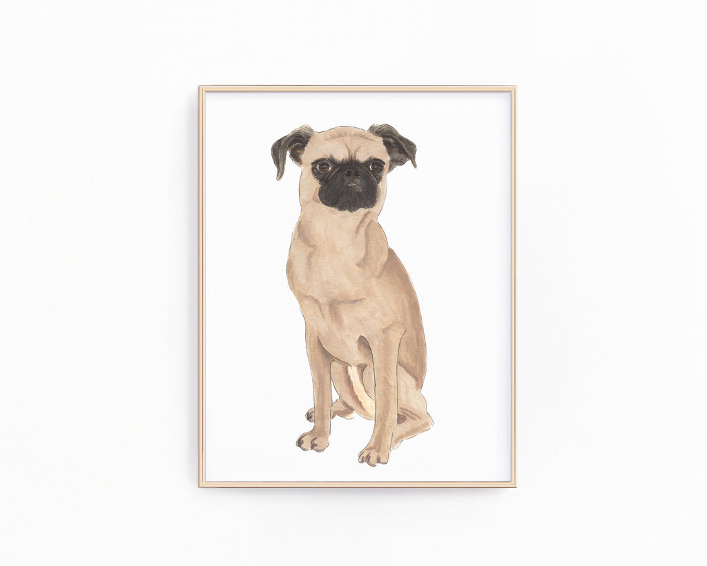 Personalized Brussels Griffon Fine Art Prints
