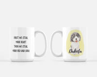 Custom Pet Painting Ceramic Mug