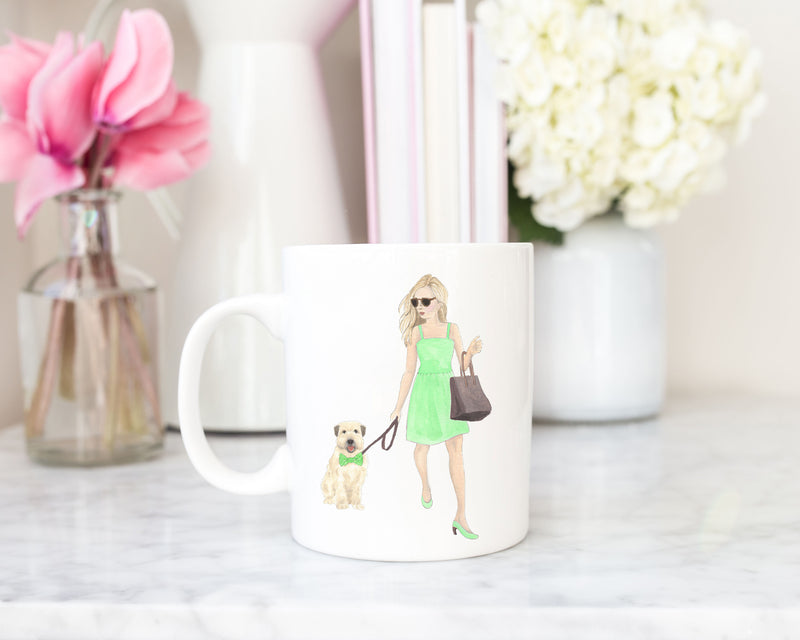 Olivia & The Wheaten 11 oz. Ceramic Mug