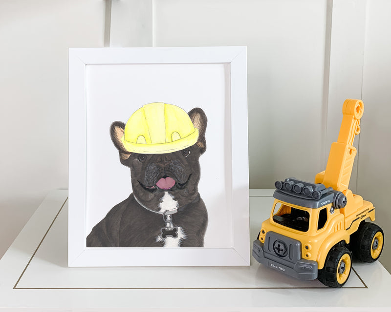 Construction Pups Printed Copies